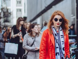 London Fashion Week streetstyle Photography Manfrotto