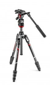 Befree live Carbon fibre tripod twist, video head